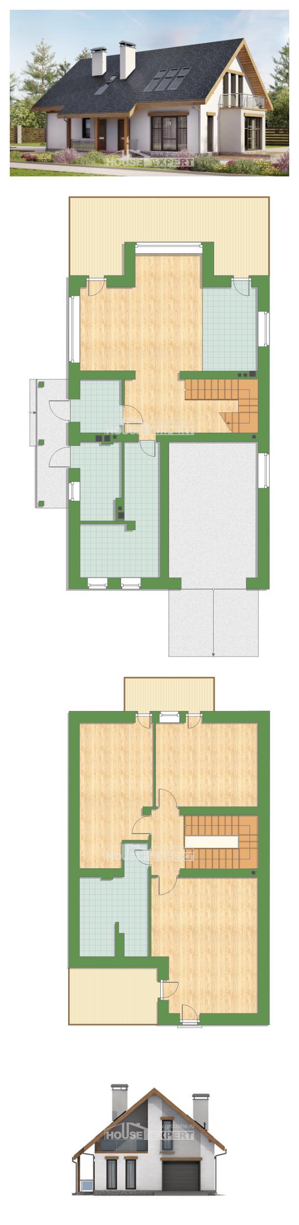 Проект дома 185-005-П   House Expert